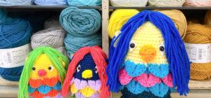 冬の感染症予防に、あまびえ様のあみぐるみを編んでみませんか?